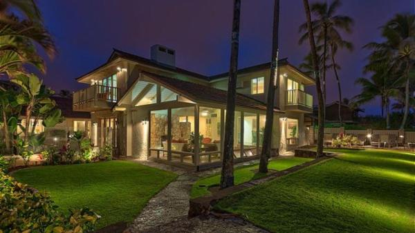 Beachfront with large outdoor space