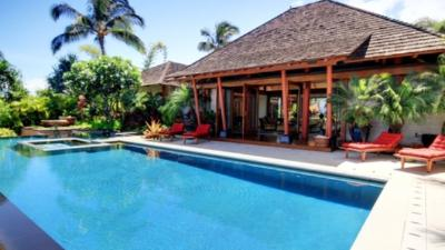 Luxury accommodations across the street from Palauea Bay