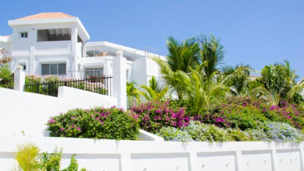 A perfect mix of modern and Caribbean style