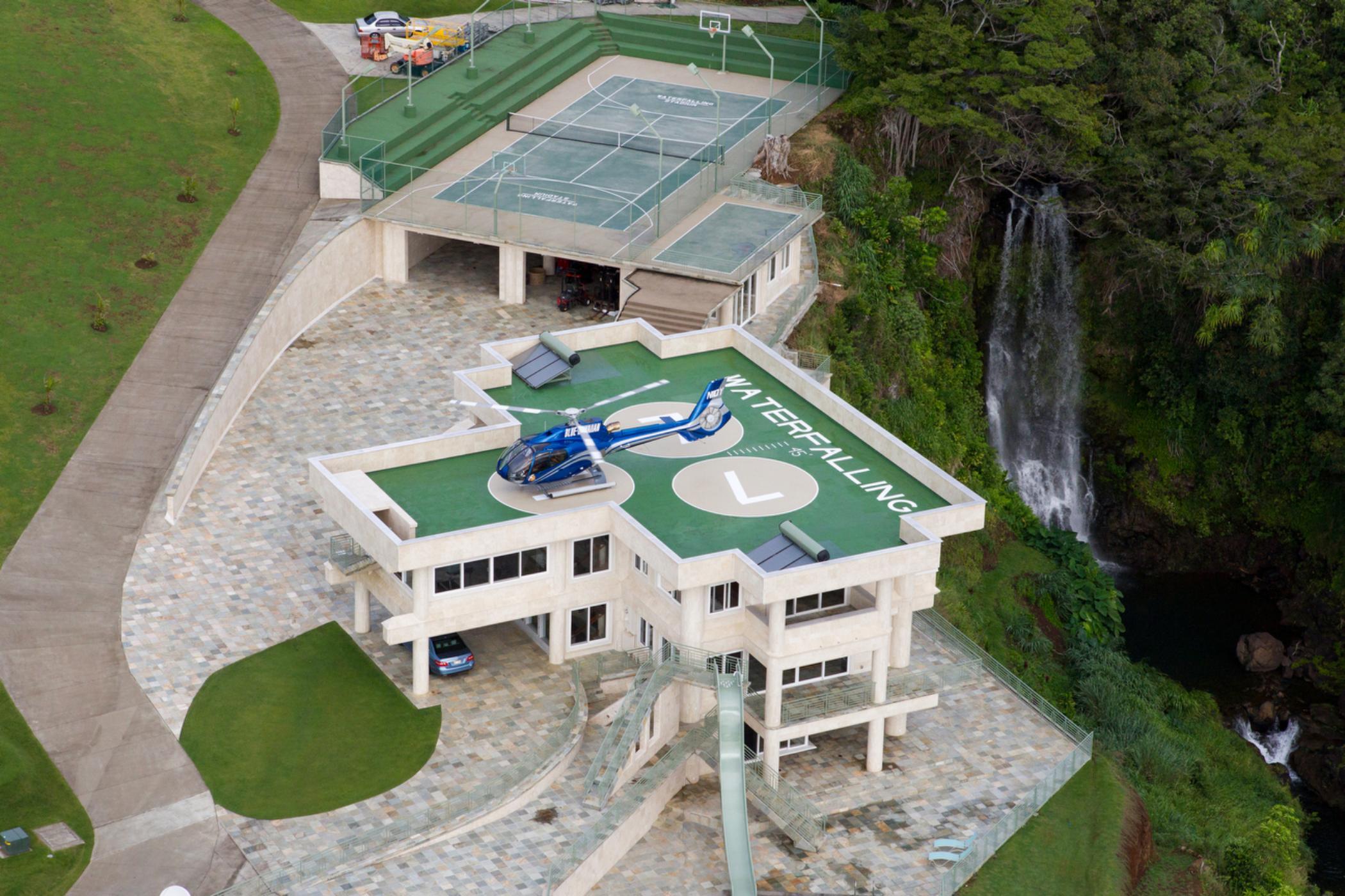 Water Falling Villa