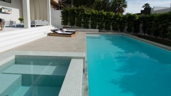 Hollywood Hills Modern Mansion