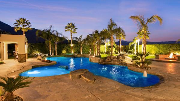 Desert Palm Oasis