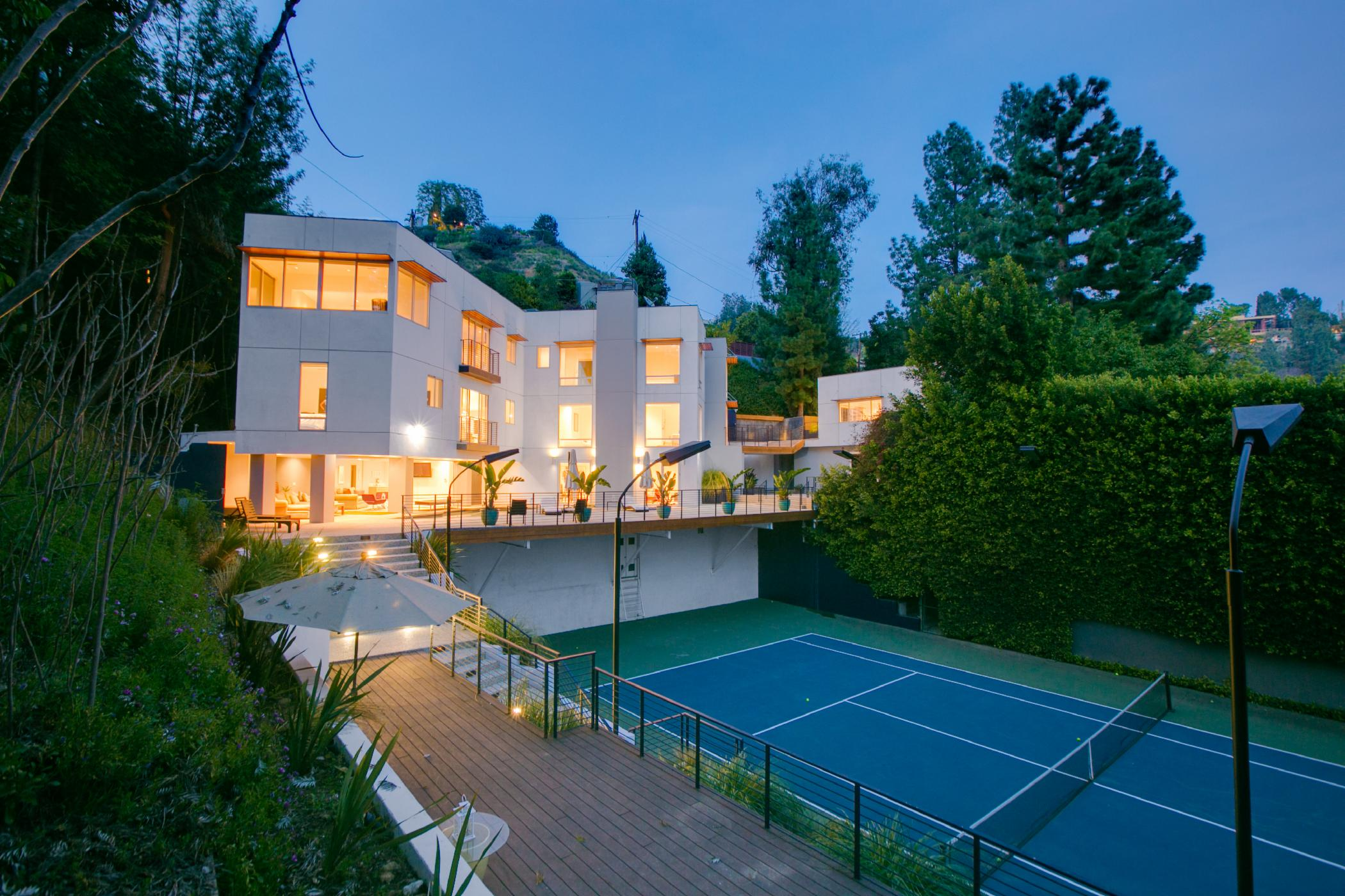 Hollywood Contemporary Compound