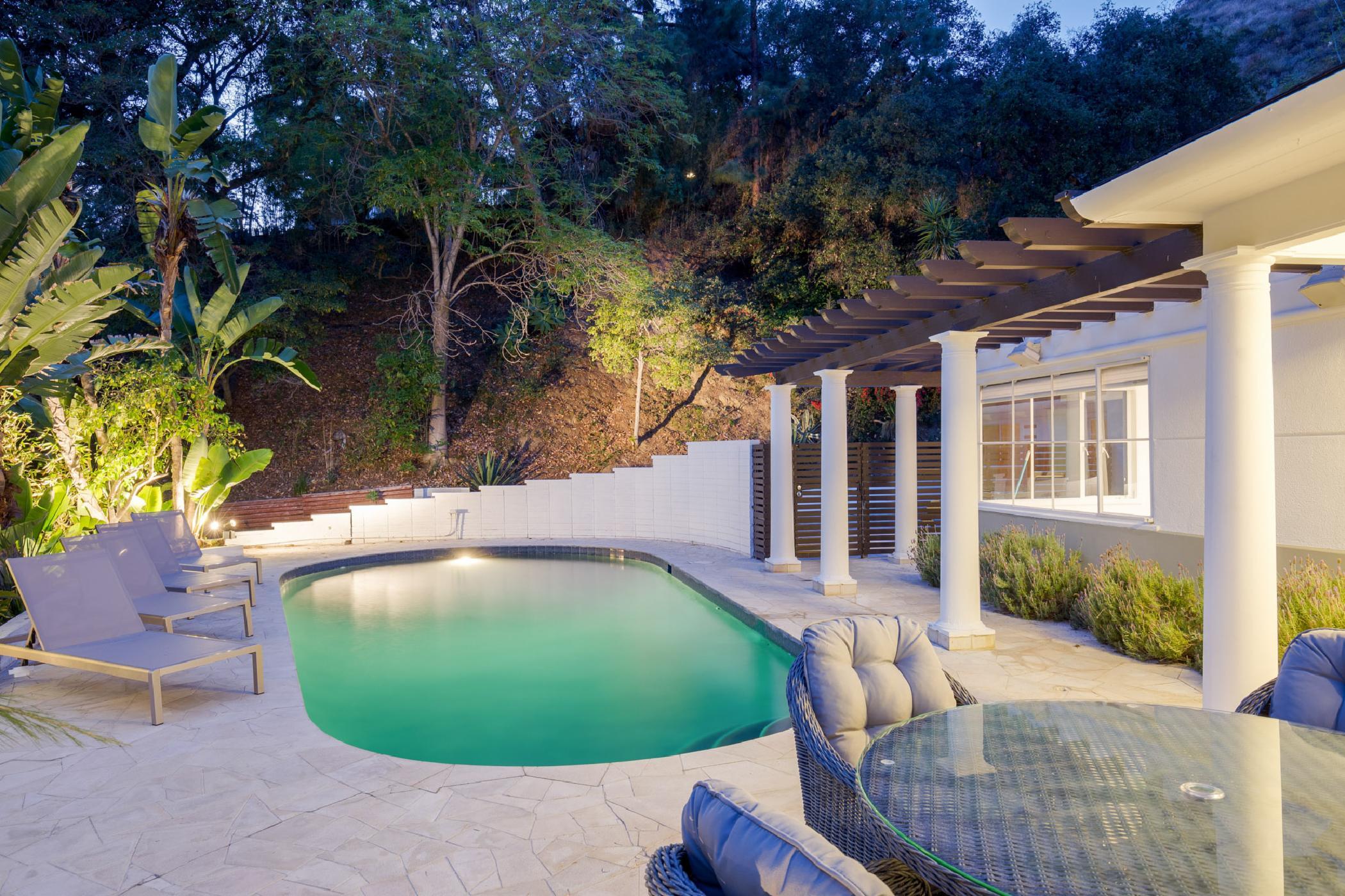 Hollywood Mid-Century Retreat