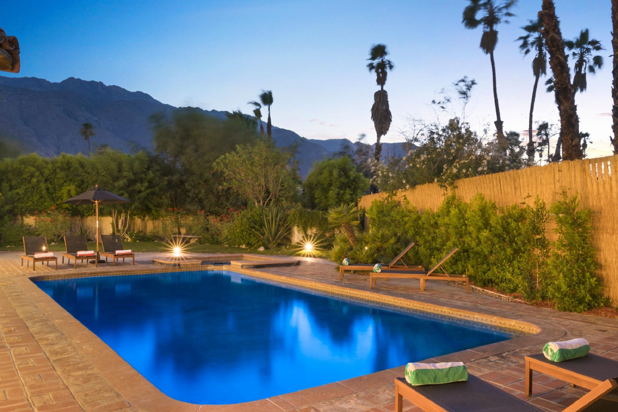 Palm Springs Hacienda