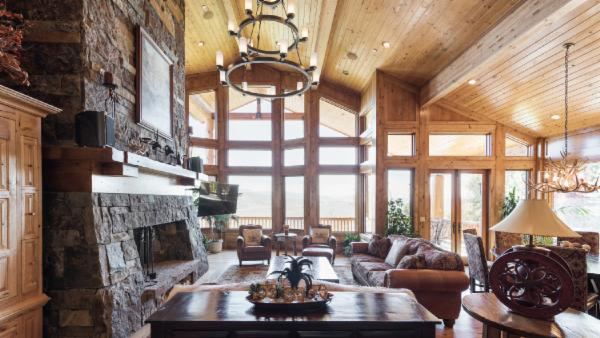 Sprawling Luxury Mountain Home with Home Theater, Sauna and Hot Tub on Private Deer Crest Ski Run