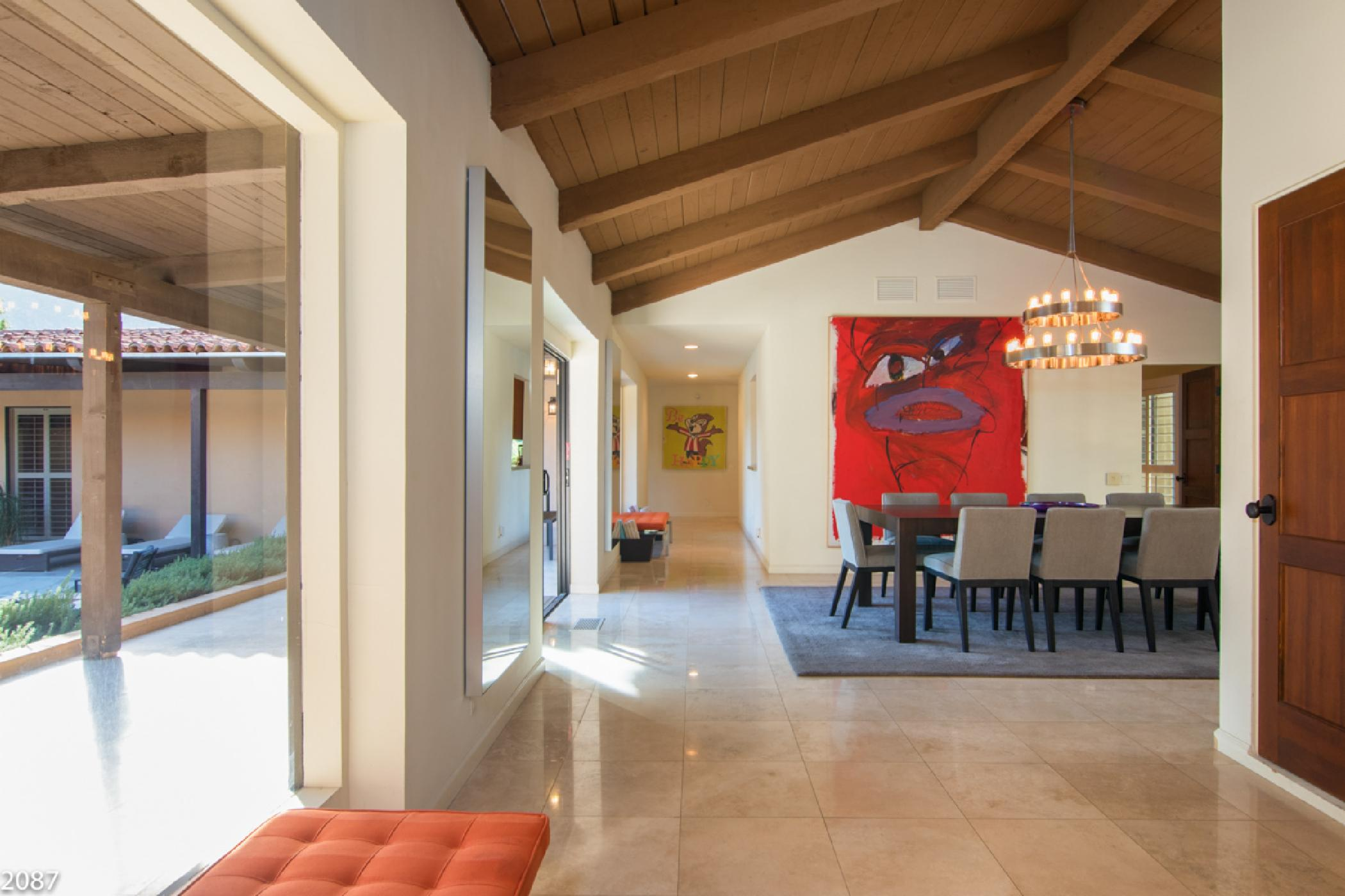 Extraordinary Las Palmas Home with Private Tennis Court and Beautiful Mountain Views