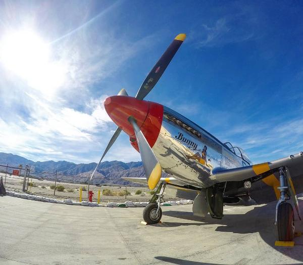 Things To Do In Palm Springs - Fly World War II Plane