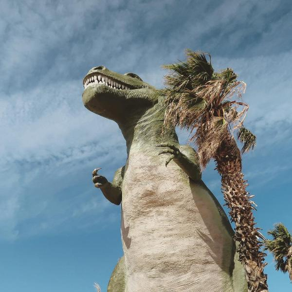 Palm Springs Attraction - Cabazon Dinosaurs
