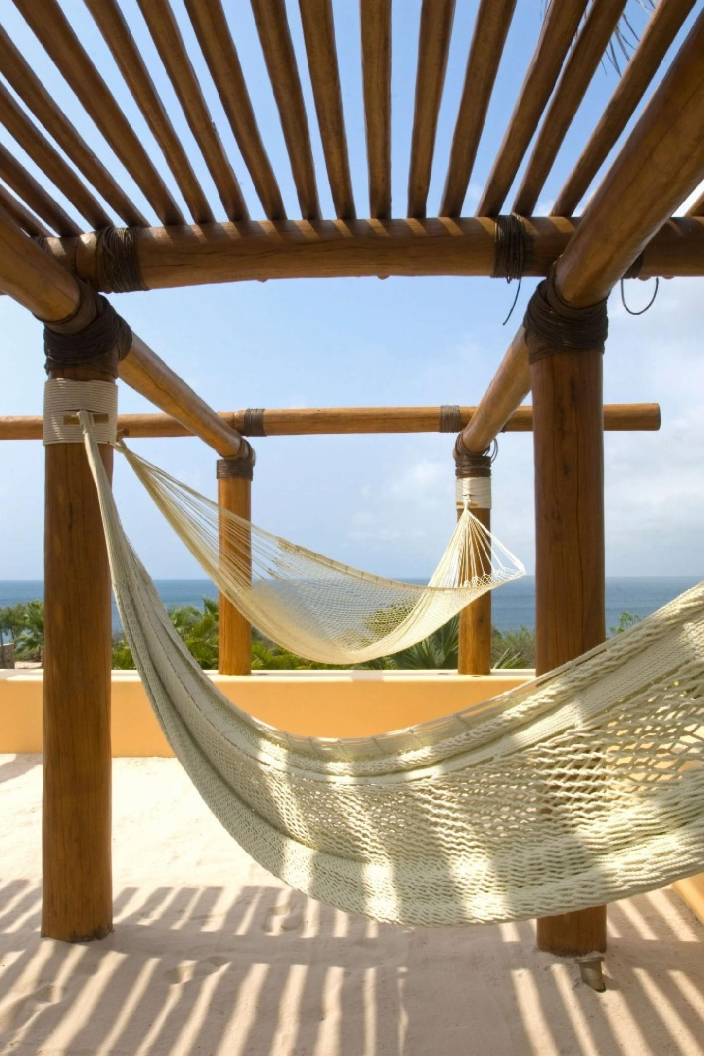There is no shortage of places to relax at Casa Querencia.