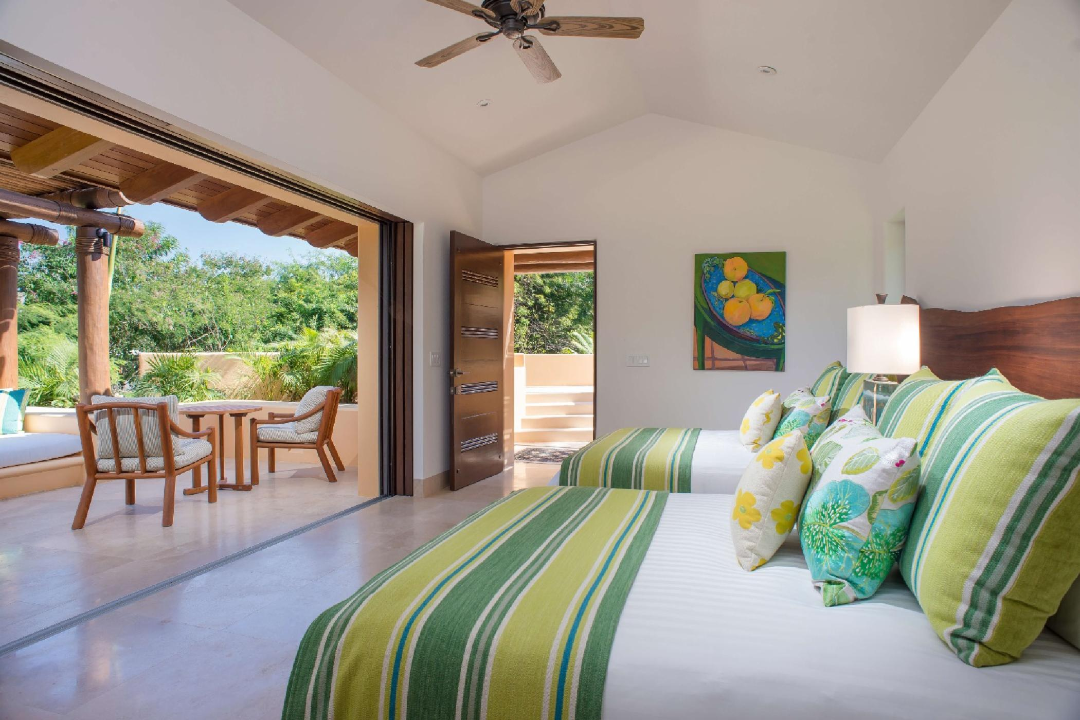 A second private casita is just steps from the beach.