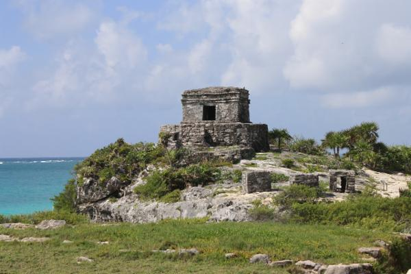 Tulum Ruins and Sea View