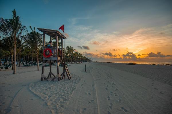 The Secret Beach at Playa Del Carmen