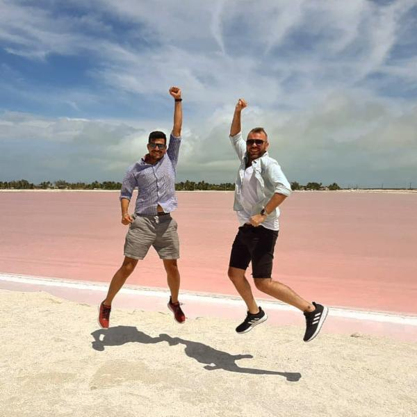 Mexico's Pink Lakes - Where are they?