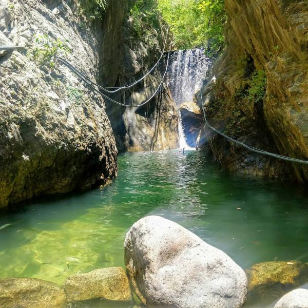 Palo Maria waterfall