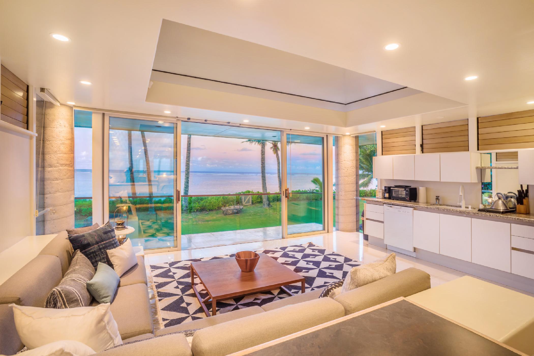 Anini Beach Front Home